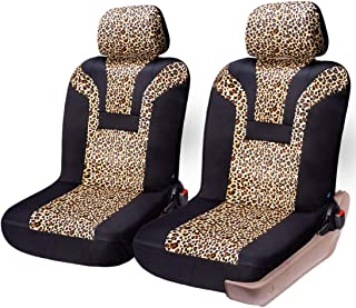 Best gray leopard seat covers Reviews