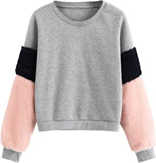 Best sweatshirt fur sleeves Reviews
