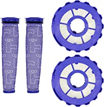 Lemige 2 Pack HEPA Post-Motor Filters & 2 Pack Pre-Motor Filters Replacement Parts for Dyson DC40, Dyson Animal, Multi Floor, Origin and Total Clean Vacuums, Compare to Part 923587-02 & 922676-01