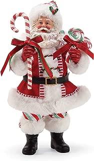Department 56 Possible Dreams Santas Peppermint Figurine, 10.5