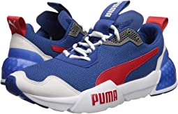 Galaxy Blue/Puma White/High Risk Red