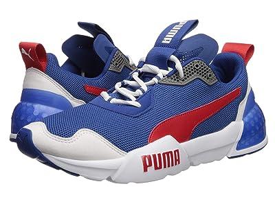 PUMA Cell Phantom (Galaxy Blue/Puma White/High Risk Red) Men