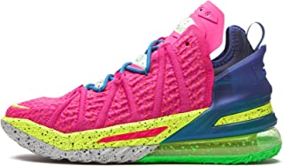 Nike Men's Shoes Lebron 18 Los Angeles by Night DB8148-600