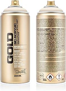 Montana Cans Bone Acrylic Spray Paint, 400ml