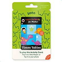 Yoto 'I'm Ready for Maths: Times Tables' by Ladybird Audio Activitty Card for Kids for Yoto Player and Yoto App – for Boys...