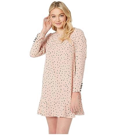 kensie Dainty Animal Dress KS1K8331 (Rosy Nude Combo) Women