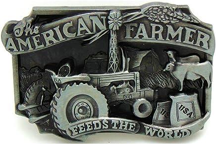 Vintage Plumber Belt Buckle Western Cowboy Native American PLMR-02