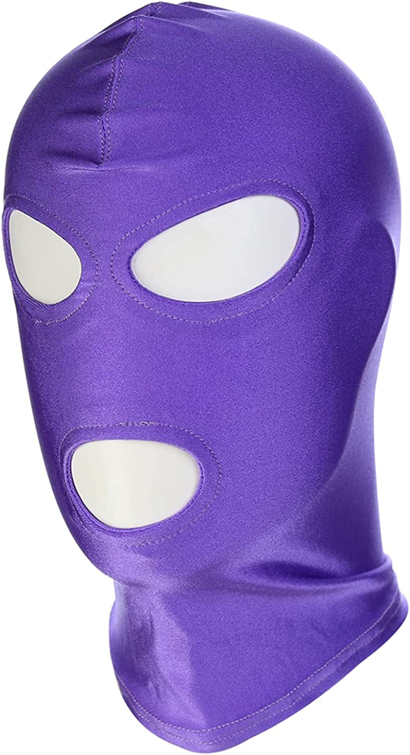 QinCiao Spandex price Cheap SALE Start Head Mask Hood Open Playing Role Game Mouth