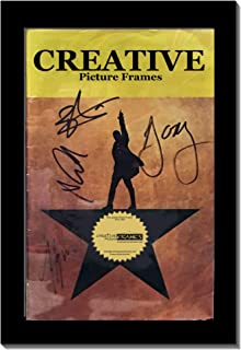CreativePF [5.5x8.5bk] Black Theatre Frame, Holds 5.5x8.5-inch Media with Installed Hanger and Easel (Theatre Bill not Included)