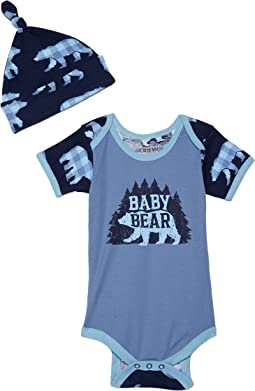 Baby Bear Bodysuit with Hat (Infant)
