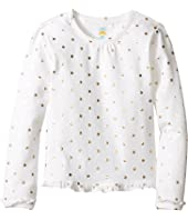 C&C California Kids - Ruffle Trim Top w/ Foil Dot Print (Infant)