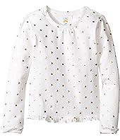 C&C California Kids - Ruffle Trim Top w/ Foil Dot Print (Infant)