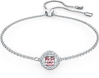 Swarovski Women's Angelic Square Bracelet, Brilliant Swarovski Crystals, Amazon Exclusive