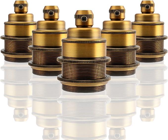 120 opinioni per GreenSun LED Lighting 5x E27 Retro Edison Luce della Lampada a Sospensione