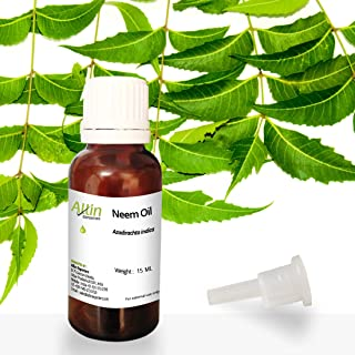 Allin Exporters Neem Oil for Skin Care, Hair Care and Natural Bug Repellent, 15ml