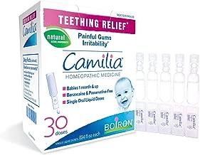 teething tablets camilia