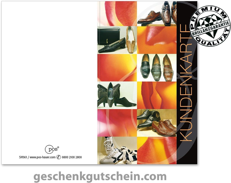 100 100 100 Stk. Kundenkarten für den Schuhfachhandel SH561 B075V3XRH4 | Ästhetisches Aussehen  | Helle Farben  | Guter Markt  333b67