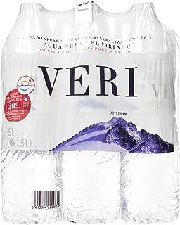 Veri Agua Mineral Natural de Mineralización Débil - Pack