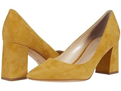 Marc Fisher LTD Zala 15 (Yellow Suede) Women