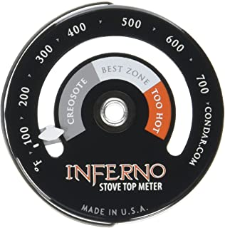 inferno stove top meter
