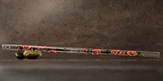 Hall Crystal Flute 22214 - Offset Glass Flute in D - Rose/Gold