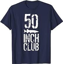 Musky Fishing TShirt - 50 Inch Club Muskie T-Shirt