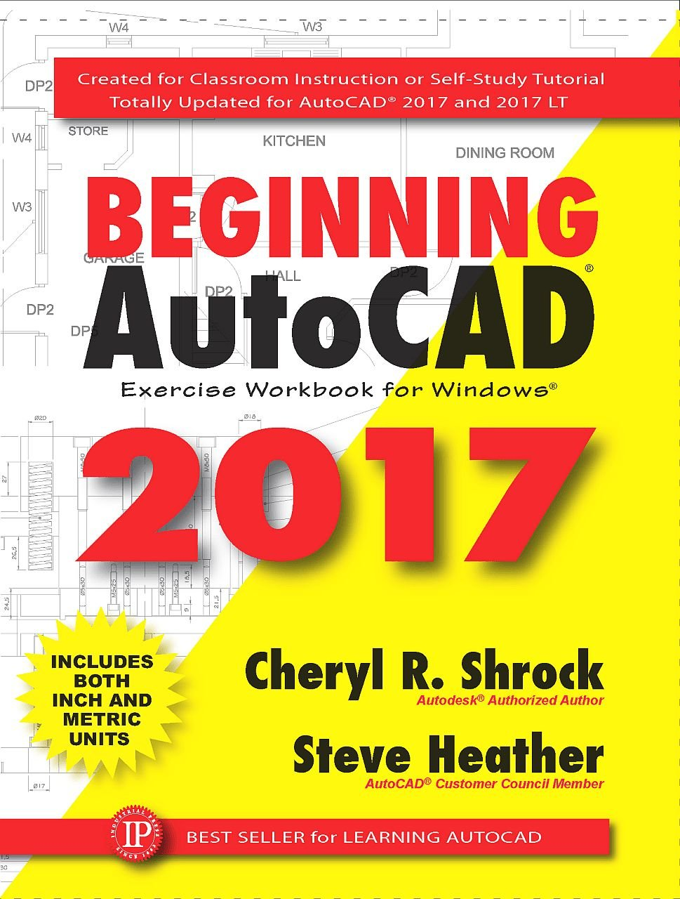 Image OfBeginning AutoCAD 2017: Exercise Workbook