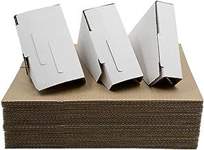 Golden State Art, Adjustable Cardboard Corner Protector for Picture Frame, Shipping, Packing or Moving Art - 3 Size Depths...