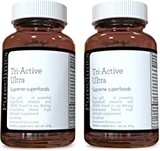 Tri-active Ultra 6 months supply only A10 a month With the strongest acai superfood supplement to date melt away fast detox and rewind time on wrinkles With 11 superfoods and DMAE Fat falls off wrinkles smooth out Estimated Price : £ 59,99