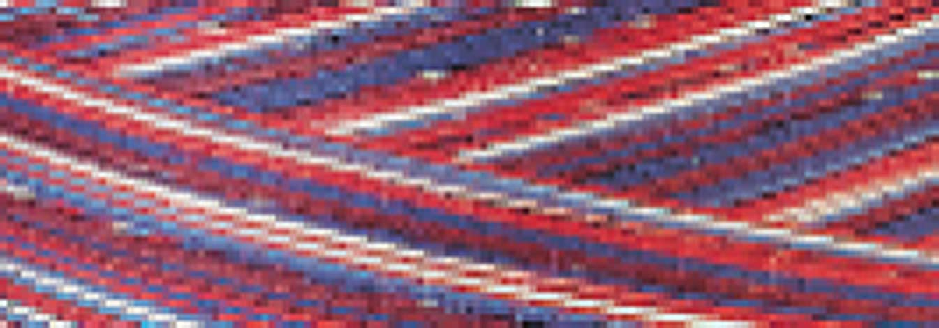 American & Efird Signature 41 Cotton Variegated Colors 700 Yards-Stars & Stripes (39320)