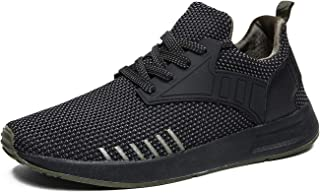 Men's Breathable Sport Shoes Knit Lightweight Casual Shoes Gym Sneakers Shoes for Work