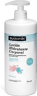 Suavinex - Loción Hidratante Corporal para Bebés. Textura Ligera con pH 5.5, 750 ml