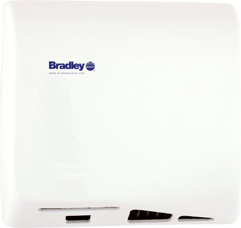Bradley Aerix 2902-28 White Adjustable Sensor-Operated Hand Drye