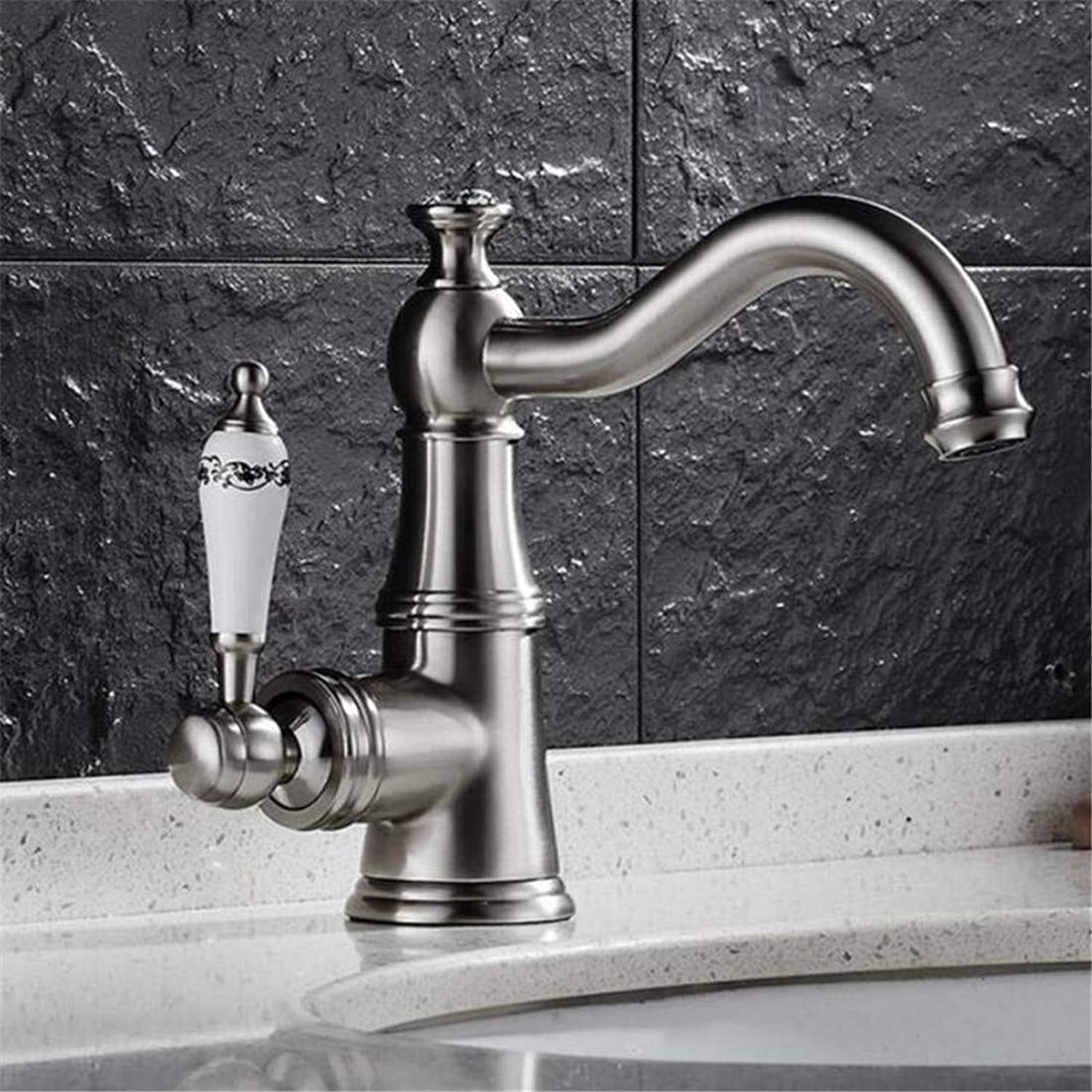 Retro Hot and Cold Faucet Vintage Platingfaucets Basin Mixer Basin Faucet Hot and Cold Water redate Leading Bath Faucet