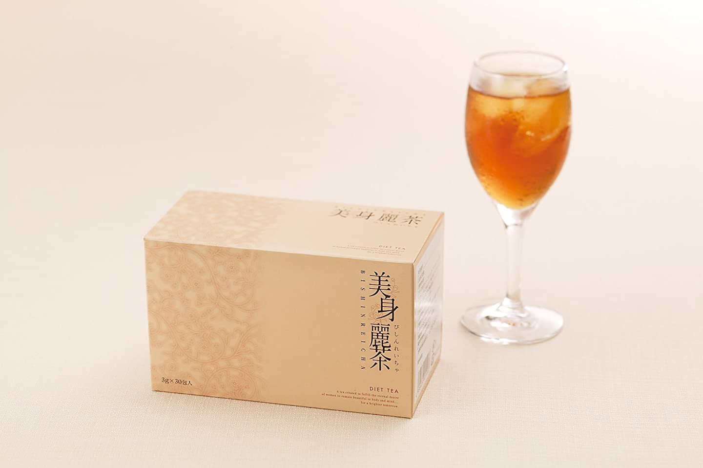 偽物引くウォーターフロント4個 美身麗茶 3g×30包 ダイエット お茶 ティー