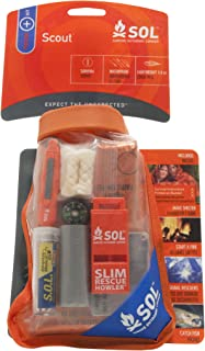S.O.L Survive Outdoors Longer Waterproof Scout Survival Kit