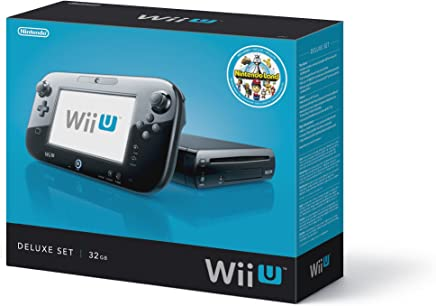 $729 Get Nintendo Wii U Console - 32GB Black Deluxe Set