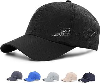 KUPEERS メッシュキャップ, 通気性抜群 日除け UVカット 紫外線対策スポーツ帽子,男女兼用 速乾 軽薄 日よけ野球帽,登山 釣り ゴルフ 運転 アウトドアなどにメッシュ帽