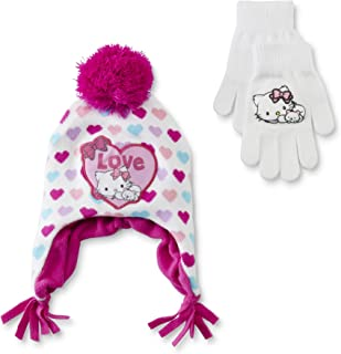 Charmmy kitty hat and gloves