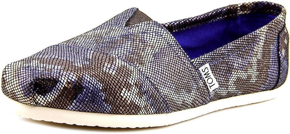Toms Classic Women US 8.5 Blue Loafer UK 6.5 EU 39