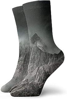 Pengyong, Pengyong Mountain Fog Summit Calcetines Informales Transpirables para Correr, Entrenar y Caminar para Hombres y Mujeres