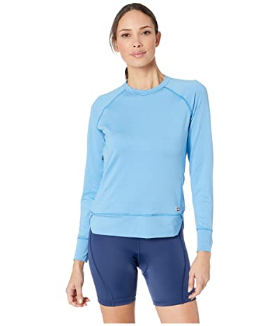 Helly Hansen Hyggen Long Sleeve (Cornflower) Women