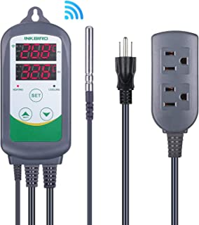 Temperature Controller For Heating And Coolin
