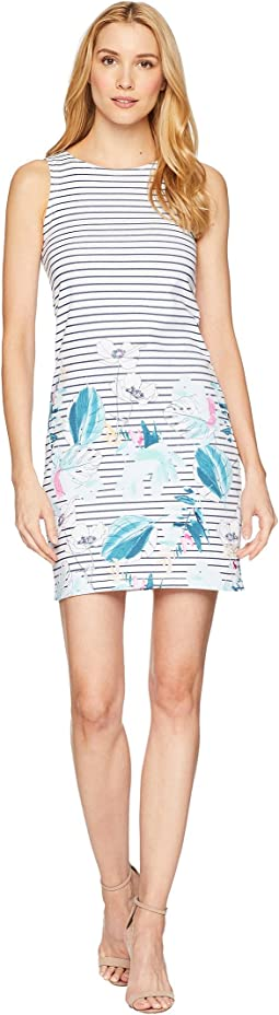 Riva Sleeveless Printed Jersey Dress