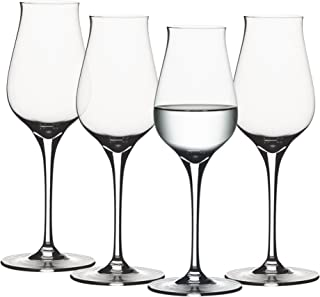 Spiegelau 4 Piece Authentis Digestive Wine Glasses, Clear