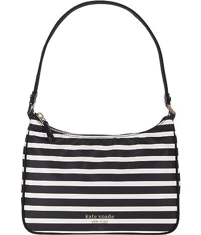 Kate Spade New York New Nylon Watch Hill Stripe Small Shoulder Bag