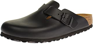 Birkenstock Boston Leather, Ciabatte Unisex-Adulto