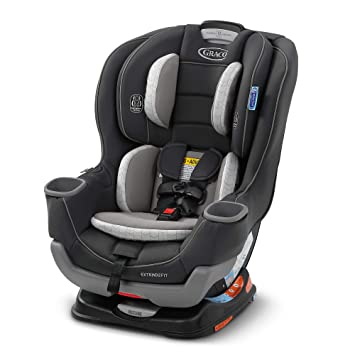 Graco Extend2Fit Convertible Car Seat | Ride Rear Facing Longer with Extend2Fit, Redmond, Amazon Exclusive: image