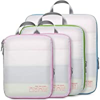 4-Pack Compression Packing Cubes for Travel Deals