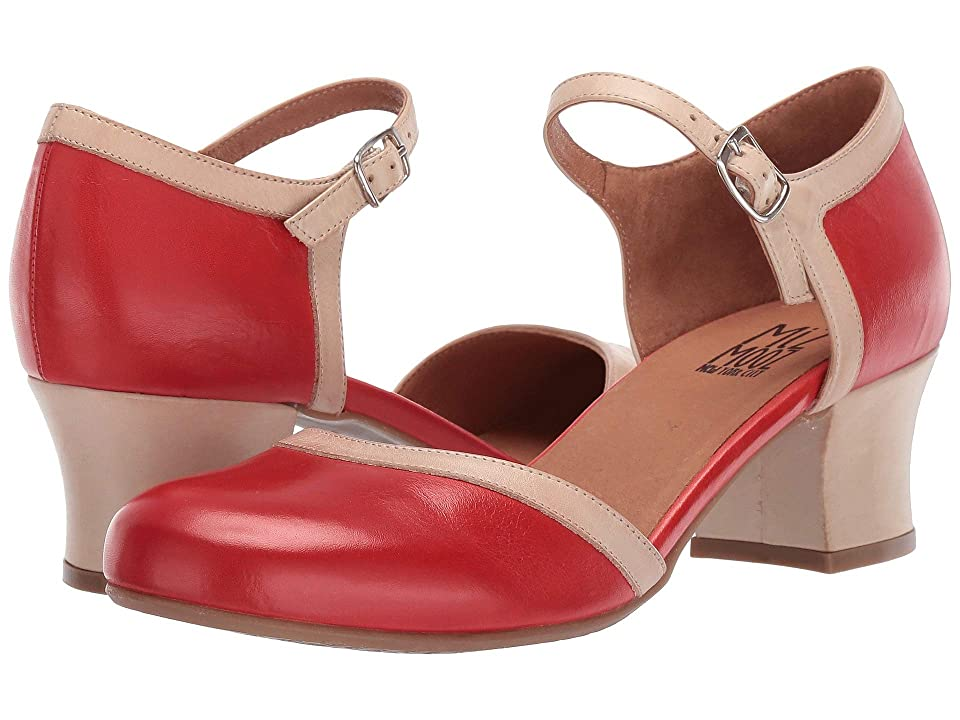 Pin Up Shoes- Heels, Pumps & Flats Miz Mooz Fleet Scarlet Womens Shoes $139.95 AT vintagedancer.com